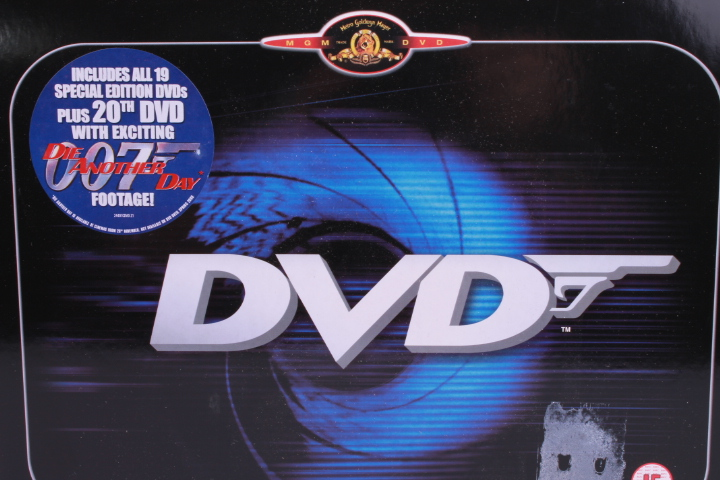 *James Bond DVD Box Set UK Tin 20 DVD Box